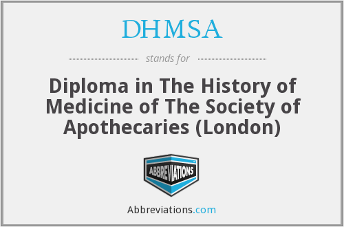 What does DHMSA stand for?