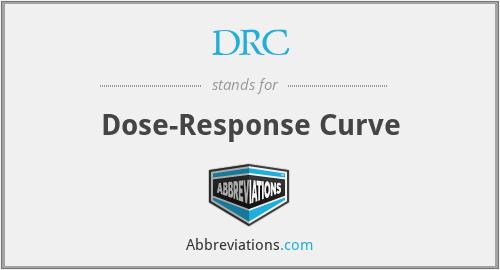 DRC - Dose-Response Curve