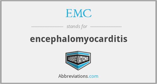 EMC - encephalomyocarditis
