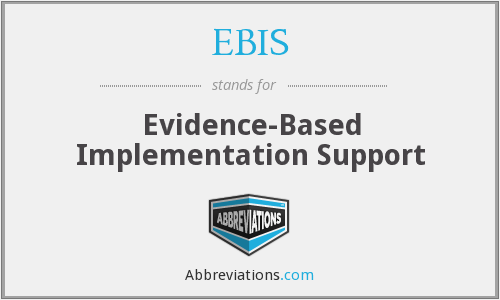 What does EBIS stand for?