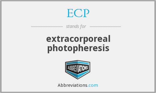 ECP - extracorporeal photopheresis