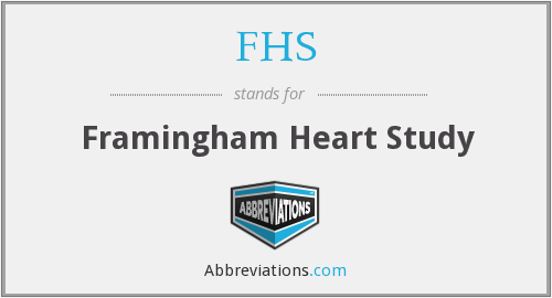 What is the abbreviation for Framingham Heart Study?