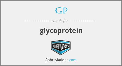GP - glycoprotein