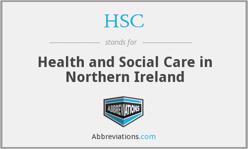 HSC - Health and Social Care in Northern Ireland