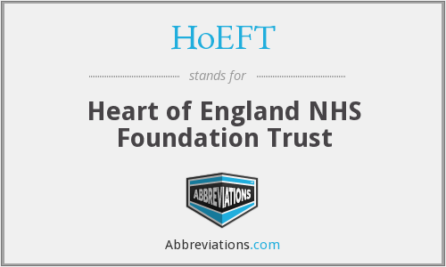 HoEFT - Heart of England NHS Foundation Trust