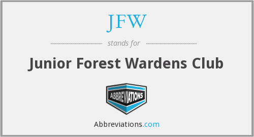 JFW - Junior Forest Wardens Club