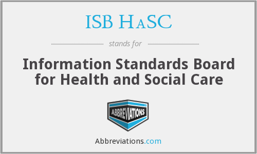 What does ISB HASC stand for?