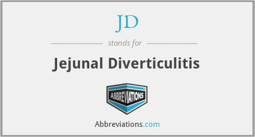 JD - jejunal diverticulitis
