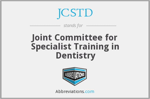 What does JCSTD stand for?