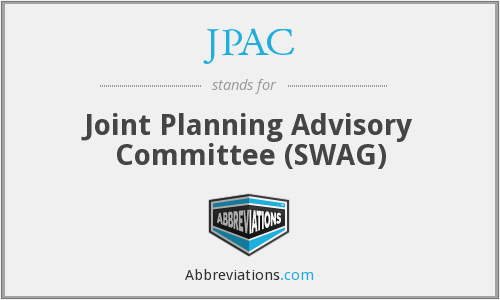 JPAC - Joint Planning Advisory Committee (SWAG)