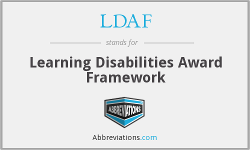 What does LDAF stand for?