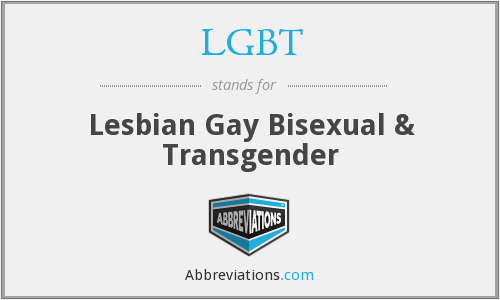 What does LGBT stand for?