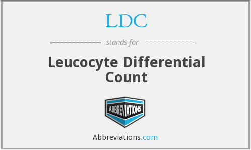 LDC - Leucocyte Differential Count