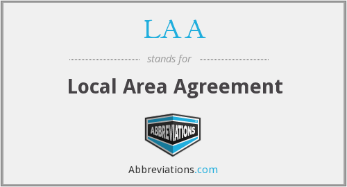 LAA - Local Area Agreement