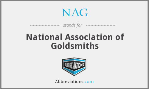 NAG - National Association Of Goldsmiths