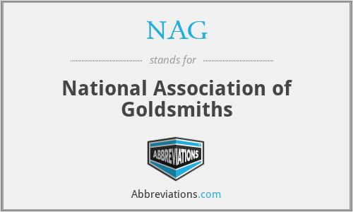 NAG - National Association of Goldsmiths