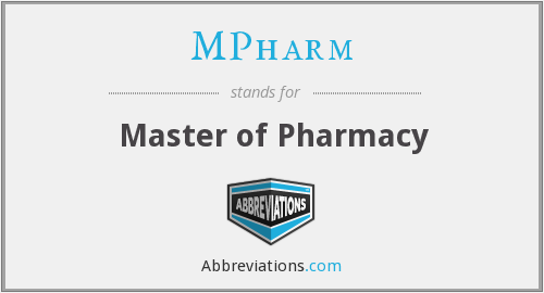 What does MPHARM stand for?