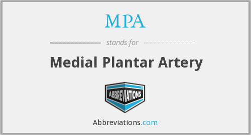 What does MPA stand for?