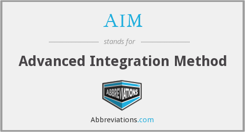 AIM - Advanced Integration Method