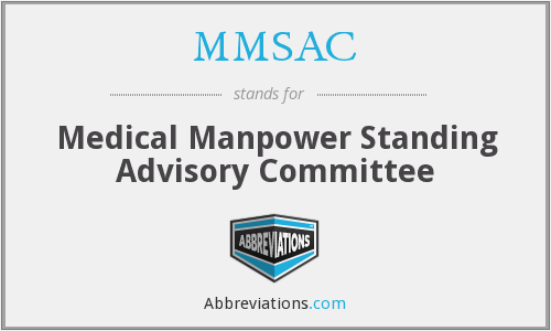 What does MMSAC stand for?