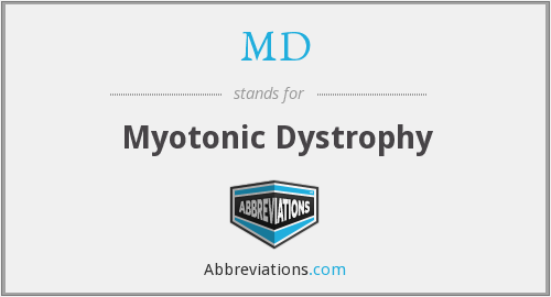 MD - Myotonic Dystrophy