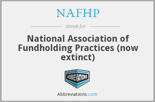 What does NAFHP stand for?