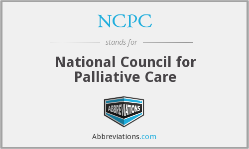 NCPC - National Council for Palliative Care