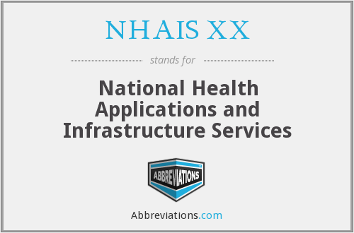 What does NHAIS XX stand for?