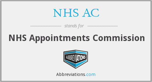 What does NHS AC stand for?