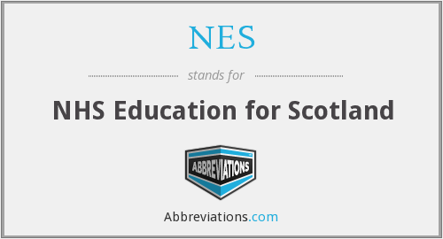 NES - NHS Education for Scotland