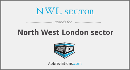 NWL sector - North West London sector