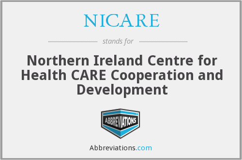 What does NICARE stand for?