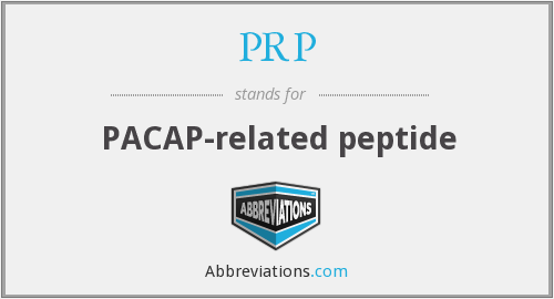 PRP - PACAP-related peptide