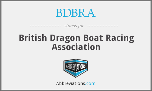 What does BDBRA stand for?