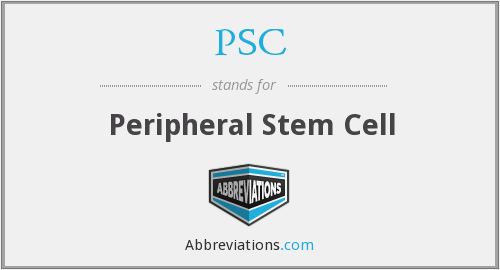 PSC - peripheral stem cell