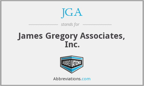 JGA - James Gregory Associates, Inc.
