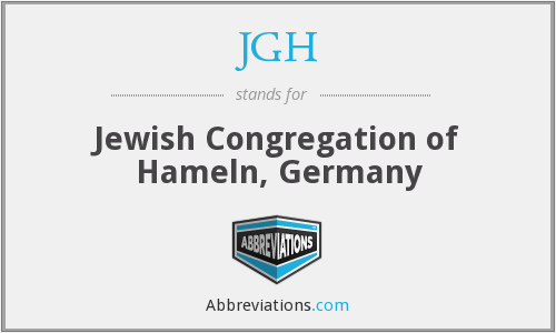 JGH - Jewish Congregation of Hameln, Germany