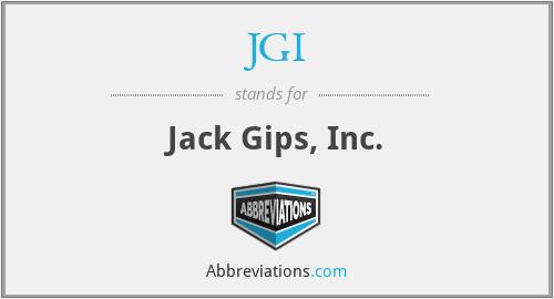 JGI - Jack Gips, Inc.