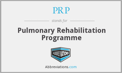 What does PRP stand for?