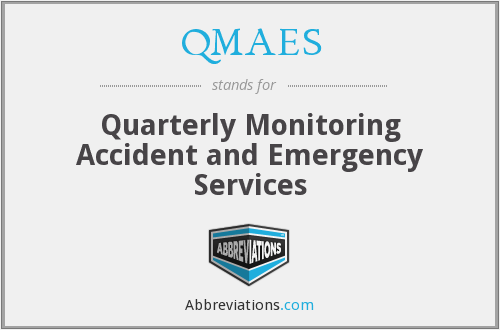 What does QMAES stand for?