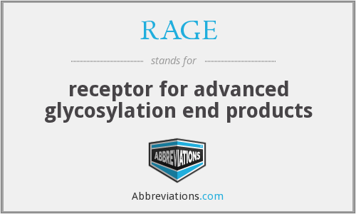 RAGE - receptor for advanced glycosylation end products