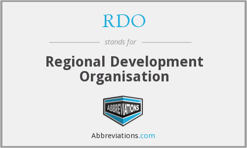 RDO - regional development organisation