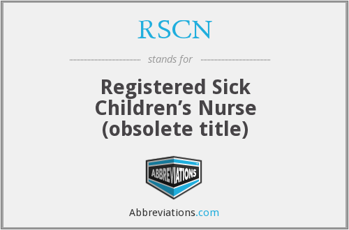 What does RSCN stand for?