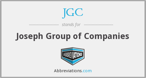 JGC - Joseph Group of Companies