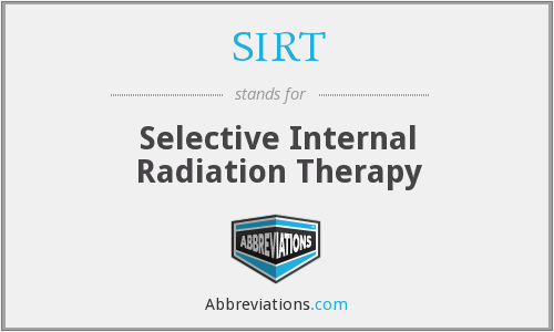SIRT - selective internal radiation therapy