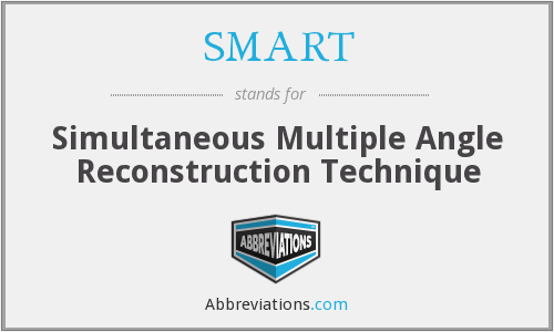 SMART - Simultaneous Multiple Angle Reconstruction Technique