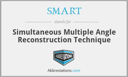 SMART - Simultaneous Multiple Angle Reconstruction Technique