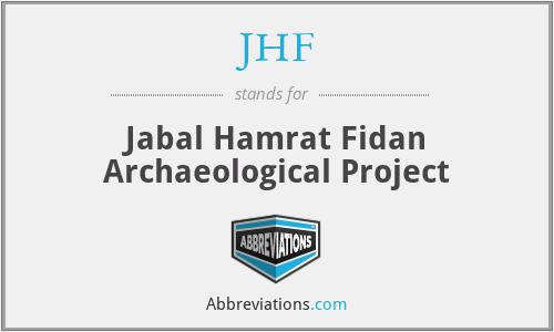 JHF - Jabal Hamrat Fidan Archaeological Project