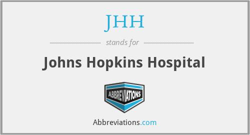 JHH - Johns Hopkins Hospital