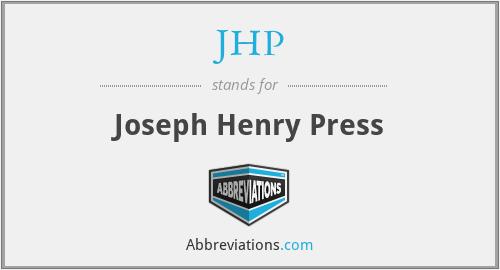 JHP - Joseph Henry Press